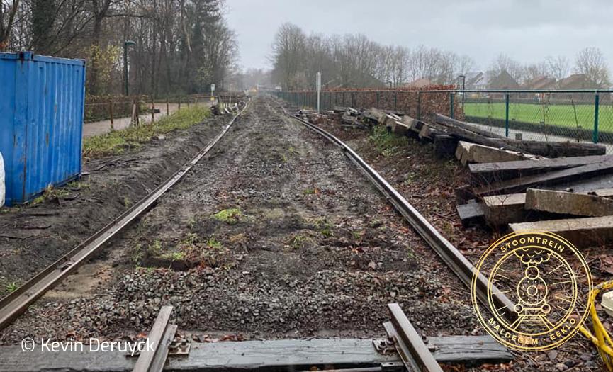 De spoorwerken gaan verder